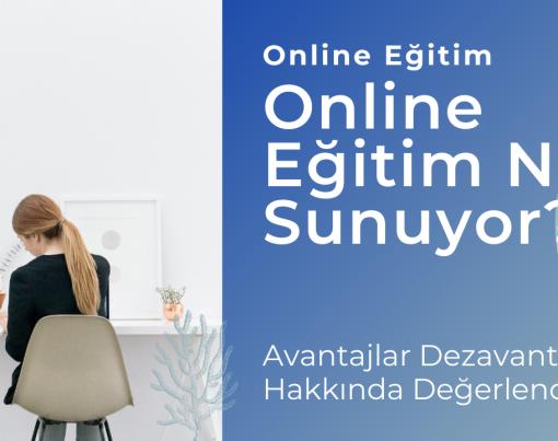Online Eğitim Ne Sunuyor?